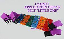 "LYAPKO APPLICATOR BELT ""LITTLE ONE"" Acupuncture massager. Silver needles"