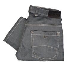 Armani Jeans Giorgio Armani J08 Regular Fit Comfort Fabric Grey W32 L32 Jeans