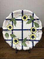 Vintage Seymour Mann Porcelain Serving Platter Hand Painted