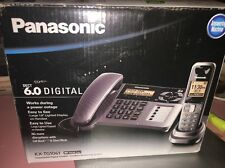 Panasonic KX-TG1061 Link2Cell 2-Line Phone with Answering Machine