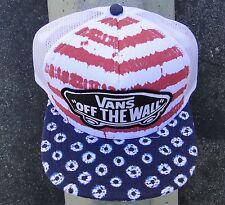 Vans Beach Red Trucker Girl Unisex Skate Snapback Hat