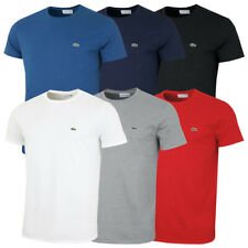 Lacoste Mens 2020 Ss Crew Neck Pima Cotton Jersey Tee T-Shirt