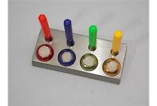 Serie 4 oliatori con base in acciaio kit lubrificazione orologi watchc pulizia