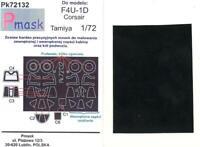 Model Maker 1/72 VOUGHT F4U-1D CORSAIR Paint Mask Set for Tamiya Kit