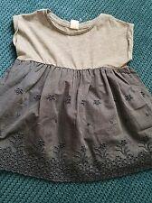 girl 3-4 4 years GAP grey denim dress