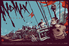 NEW Mad Max Fury Road Mondo Ken Taylor Movie Poster Screen Print 990/2765