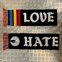 MTN Hooligan Scarf by Montana Colors - Love Graffiti - Hate Racism