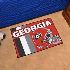 "Georgia Bulldogs Uniform Inspired 19"" X 30"" Starter Area Rug Mat"