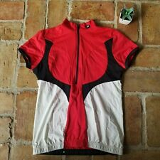 De Marchi Veloce Red White Cycling Jersey Small Jersey Bike Riding Light Weight