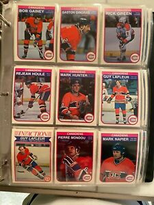 1982-83  OPC HOCKEY COMPLETE SET    90%  FROM PACKS 10 YEARS AGO