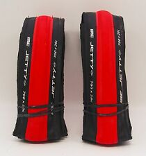 IRC Jetty Plus 700x28C Road Bicycle Tire Red (pair)