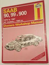 Saab 90 99 & 900 - Haynes owners service & workshop manual 1979 to 1985