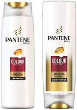 Pantene Pro-V Colour Protect Shampoo & Conditioner 270ml Each Ladies Shiny Hair