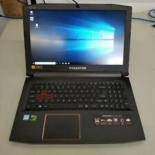 "Acer Helios 300 i7-7700 16Gb/256Gbssd15.6"" Laptop 1920 X 1080/6Gb Video Gt1060"