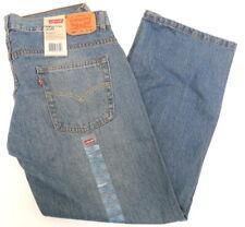 NWT Boys LEVIS 550 Relaxed Blue Denim Jeans Sz 14H Husky 33 x 28 Husky