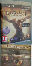 God of war ascension + DEMO jeu the Last of us ps3 aventure allemand spielb OV