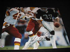 Marcus Allen Oakland Raiders Signed 16x20 Photo PSA #2