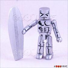 Minimates Marvel Universe Fantastic Four Silver Surfer action figure loose