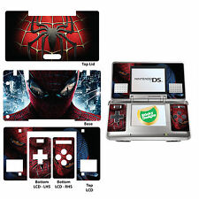 Spiderman Vinilo Piel Adhesivo para Nintendo Ds original