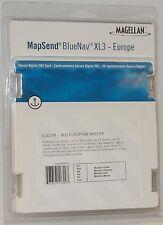 New Magellan MapSend BlueNav Europe Maps Xl3 Mid European Waters Sd Cd Meridian