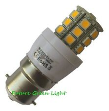 B22 BC 24 SMD LED 240V 3.8W 350LM WARM WHITE DIMMABLE BULB ~50W