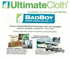 ULTIMATE CLOTH STREAK FREE ECO-friendly BAD BOY safe all surfaces motorcycles RV