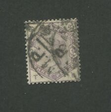 1884 Great Britain United Kingdom Queen Victoria 3 Pence Postage Stamp #102