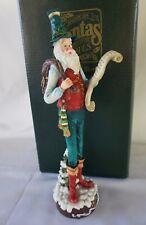 Roman American Santas Through the Decades 1810 Pencil Santa 66921- 1993