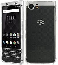 TECHGEAR BlackBerry KEYone Slim Protective Gel TPU Case Cover With Bumper