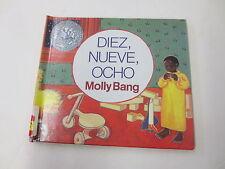 Diez, Nueve, Ocho/Ten, Nine, Eight by Molly Bang (1997, Prebound)