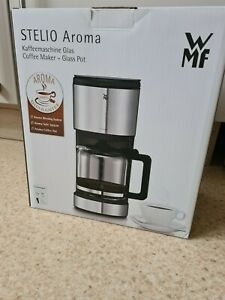 WMF STELIO Aroma Filterkaffeemaschine / Kaffeemaschine / Glas / wie neu