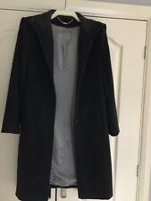 Ladies Next Wool Coat Size 12 - dark grey