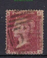 1864 Great Britain Queen Victoria Sc #33a Plate 168 Used