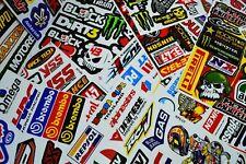 20 x A4 Sheets of Racing Stickers/Decals Motorsport/Car/Bike/BMX/Skateboard NEW!