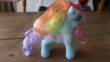 RAINBOW DASH MY LITTLE PONY G3 WITH PEARL NECKLACE AND BOW