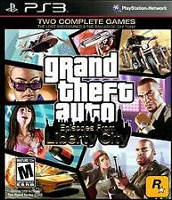 Grand Theft Auto Episodes From Liberty City Playstation 3 PS3 Complete w Map