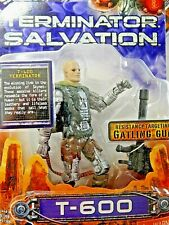 TERMINATION SALVATION FIGURINE, T-600, WITH RESISTANCE TARGETING GATLING GUN