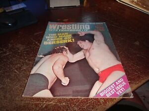 Victory sports series wrestling yeardbook vol 13 1975 andre the giant awa wwf nw