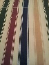 VINTAGE CROSCILL HOME FASHIONS STRIPED 84 x 17 BALLOON VALANCE