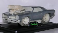 Muscle Machines Raw 1966 Pontiac GTO 66 Goat Limited Release 1/504 1:18 Scale