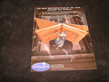 RATATOUILLE 2007 Oscar ad with Remy and cookbook, Pixar for Best Animated Film