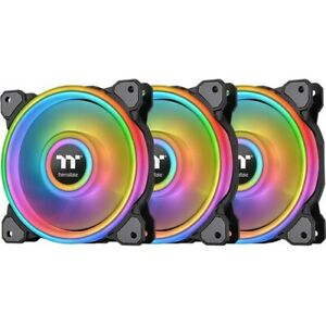 Thermaltake Riing Quad 120mm 16.8 Million RGB Color (Alexa, Razer Chroma) Softwa