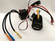 540 3100 KV BRUSHLESS Motor & ESC Combo Set 1/10 RC Car Fits Tamiya HPI HSP
