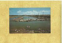 MA Wellfleet 1950-60s vintage postcard MARINA MASS BY Harold Cooper