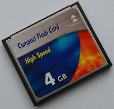 4 GB Compact Flash Speicherkarte für Kamera Sony Alpha 900 DSLR