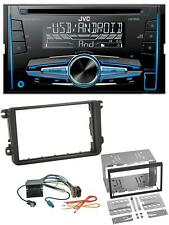 JVC MP3 USB CD 2DIN AUX Autoradio für Skoda Fabia Octavia II Rapid Roomster
