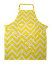 White Kitchen Apron chevron kitchen aprons | ebay