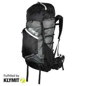 Klymit Motion 60 Backpack Lightweight Camping Backpacking- Certified Refurbished