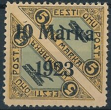 [37421] Estonia 1923 Good airmail stamp Very Fine MH