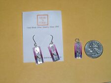 NEW WITHOUT TAGS - STERLING SILVER-KEVIN N ANNA- PENDANT & MATCHING EARRINGS SET